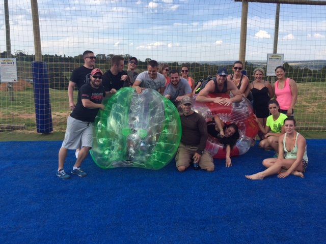 Bubble soccer & Arch Rivals
